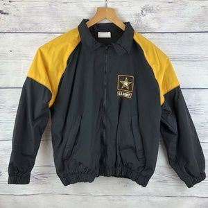 Army Recruiting Jacket X-Small Black Gold